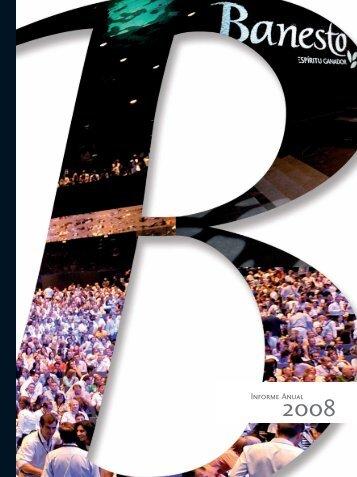 Informe Anual Banesto 2008