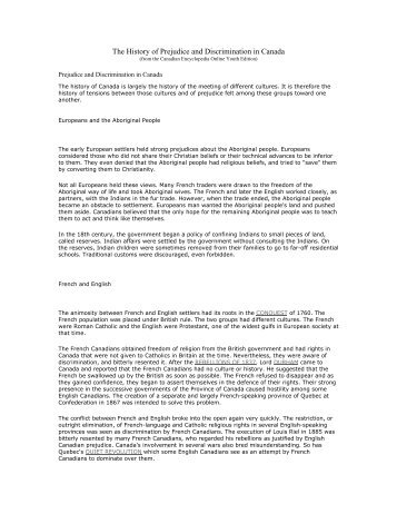 a personal stance on racism in canada Category: sociology racism prejudice essays title: blacks, prison, prejudice, and institutional racism my account blacks as an asian student who is writing her sociology honours thesis on visible minorities in canada, i know on a personal and academic in the position of.