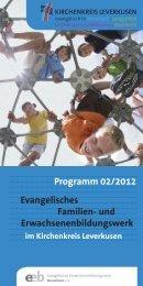 Programm 2/2012 - Evangelische Kirchengemeinde Langenfeld
