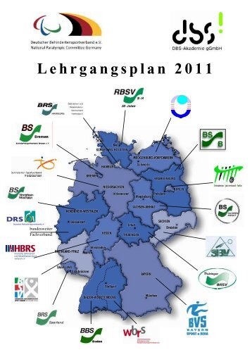 Lehrgangsplan 2011 - Behinderten-Sportverband Berlin e.v.