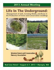 Life In The Underground: - Western Forestry and Conservation ...
