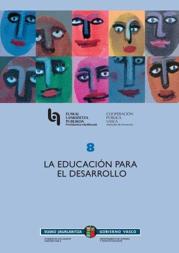 la educación para el desarrollo - Portal de Desarrollo Humano Local