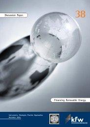Financing Renewable Energy