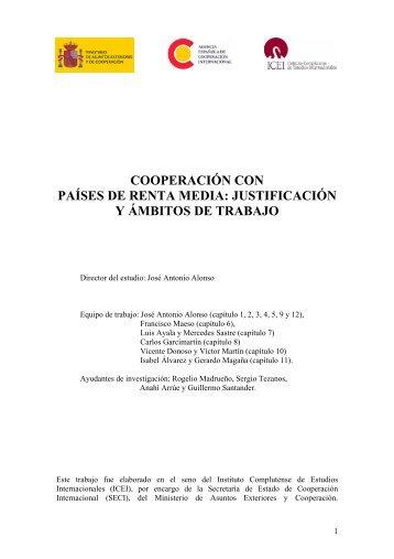 cooperación con países de renta media - Biblioteca Hegoa