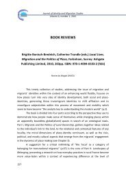 Brigitte Bonisch-Brednich, Catherine Trundle (eds.) - Research ...