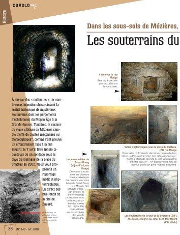 Les souterrains du Moyen-Age (Mézières) (pdf - 397,41 ko) - Ville de ...