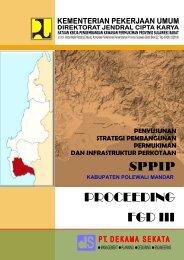 kabupaten polewali mandar - Ditjen Cipta Karya