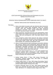 Kepmen Kimpraswil No 403 Tahun 2002 Tentang Pedoman Teknis ...