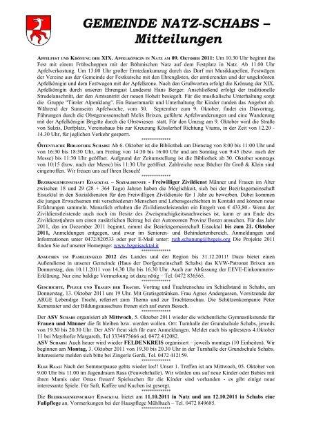 Pfarrbrief Nr. 39/2011 (176 KB) - .PDF