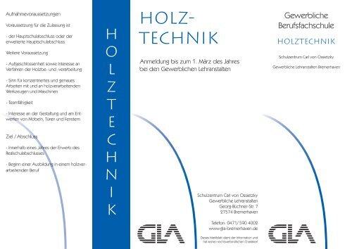 HOLZ- TECHNIK - Vbs-bremerhaven.de