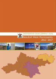 Download The Fianl IDP As A PDF Document - Beaufort West ...