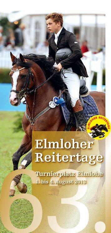 Elmloher Reitertage Elmloher Reitertage Elmloher Reitertage