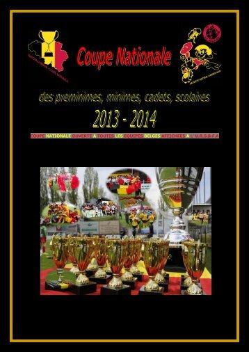 Réglement Coupe Nationale 2013 – 2014