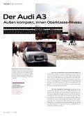 Der neue Audi A3 Außen kompakt, innen auf Oberklasse-Niveau ... - Page 6