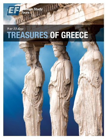 TREASURES OF GREECE - EF College Study Tours