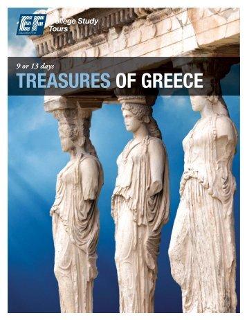 TREASURES OF GREECE - EF College Study Tours