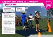 triathlon - School Games