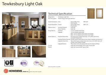Tewkesbury Light Oak