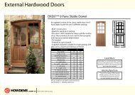 External Hardwood Doors