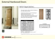External Hardwood Doors - Howdens Joinery