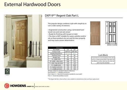 howdens external door frame sizes. Black Bedroom Furniture Sets. Home Design Ideas