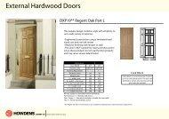 External Hardwood Doors - Howdens Joinery
