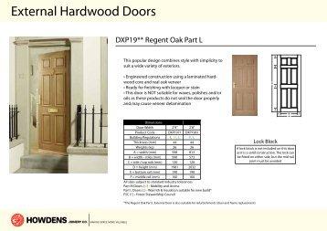 External Hardwood Doors - Howdens Joinery  sc 1 st  Yumpu & Hardwood Doors - Howdens Joinery