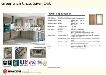 Greenwich Cross Sawn Oak
