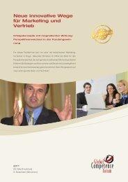 Neue innovative Wege für Marketing und Vertrieb - Christiani ...