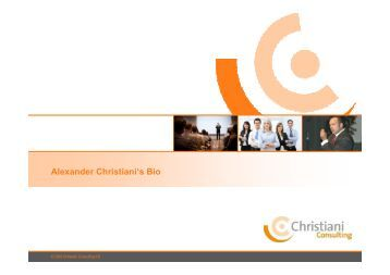 AC Profile_engl2008 - Christiani Consulting