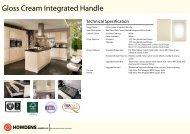 Gloss Cream Integrated Handle
