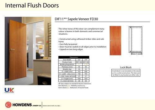 sc 1 st  Yumpu & Internal Flush Doors