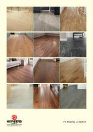 The Flooring Collection - Howdens Joinery