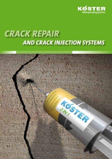 CRACK REPAIR - Koster
