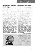 Januar 2009 Jahreslosung 2009: - posaunenchor-oberpfannenstiel.de - Seite 7