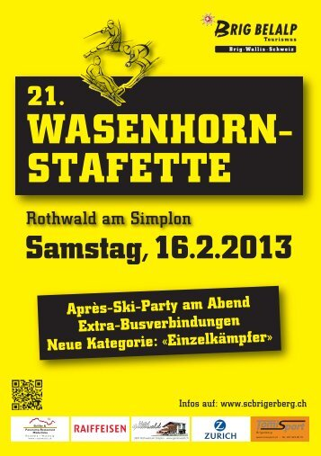 Offizielles Festbuch - SC Brigerberg