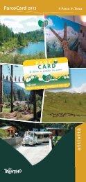 ParcoCard - Parco Naturale Adamello Brenta