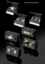EVOline® Multimedia Modules