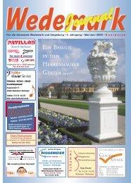 Mai/Juni 2009 - Wedemark Journal und Kulturjournal190