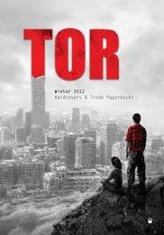 Winter 2012 Tor Catalog - Raincoast Books