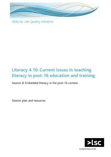 Literacies in context