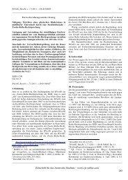 BVerfG, Beschl. v. 7.3.2011 – 1 BvR 388/05 Sinn ... - ZJS