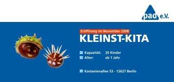 KLEINST-KITA - pad eV