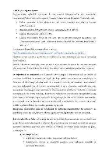 Ajutorul de stat - CNDI
