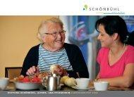 Jahresbericht 2009 - Altersheim.schoenbuehl-sh.ch