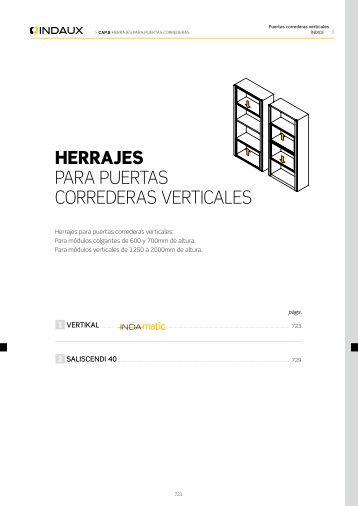 1030 indaux - Herrajes puertas correderas ...