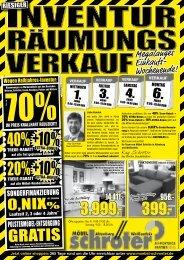 40% +10% 20% +10% - Möbel Schröter: Hier wird der Einkauf zur ...