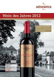 Wein des Jahres 2012 - Staatskellerei Zürich