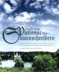 Unter dem Patronat der Staatsschreibers (PDF, 1.1 Mb)