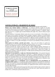 scarica le brevia num° 34 del 2011 - PERELLIERCOLINI.it